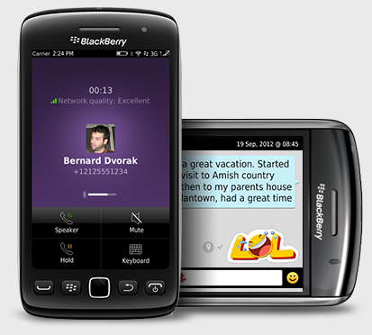 Установить viber для BlackBerry